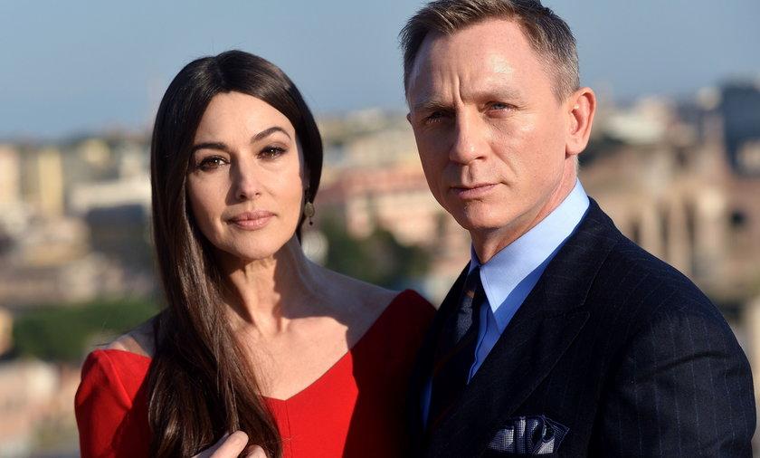 Daniel Craig i Monika Bellucci
