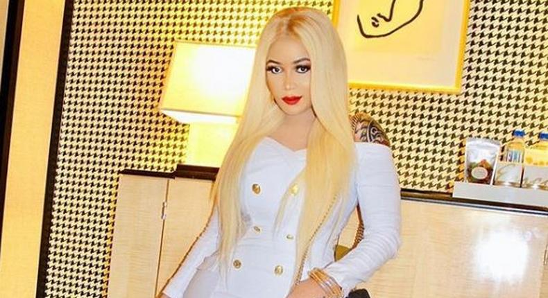 Vera Sidika's perfect clap back after fan referred to her as plastic