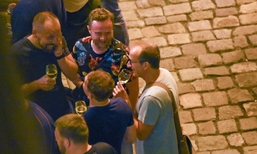 Impreza kabareciarzy z Opola