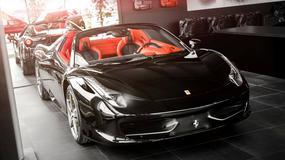 Ferrari 458 Spider ze specjalną kreacją wnętrza