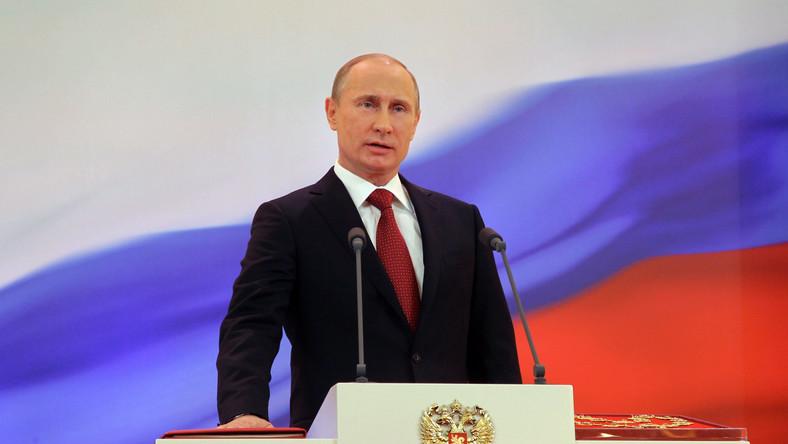 Władimir Putin nowym prezydentem Rosji