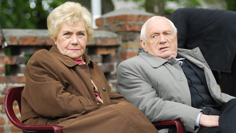 """Teresa Lipowska i Witold Pyrkosz w """"M jak miłość"""""""