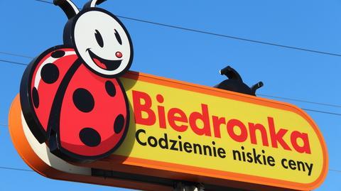 Biedronka ma ponad 2750 sklepów w Polsce.