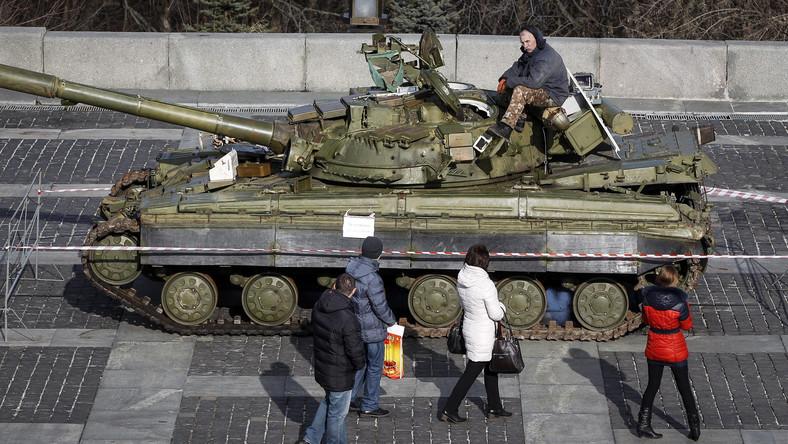 Zdobyte czołgi na Ukrainie