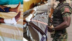 Soldier takes pregnant wife to hospital for delivery, beats up 2 nurses, breaks one's leg