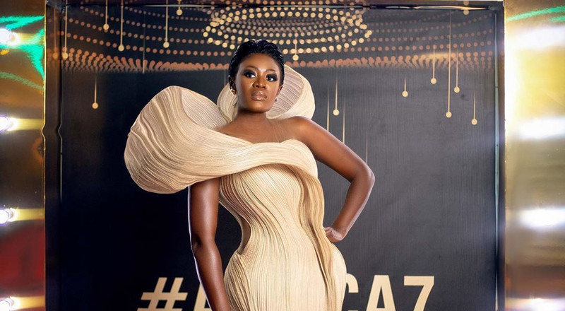 #AMVCA7: Nana Akua Addo ruled the red carpet and these photos are proof