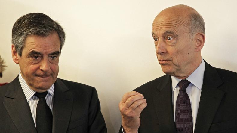 Francois Fillon i Alain Juppe