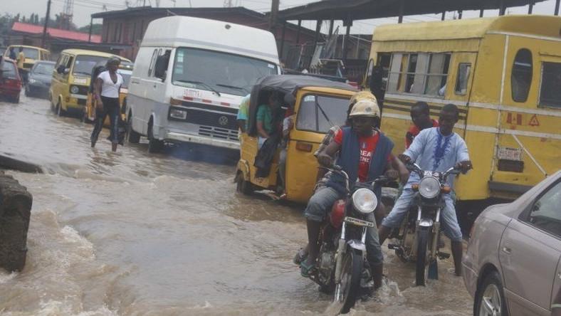 Image result for Nigeria traffic rainfall