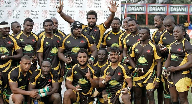 Kabras Rugby team