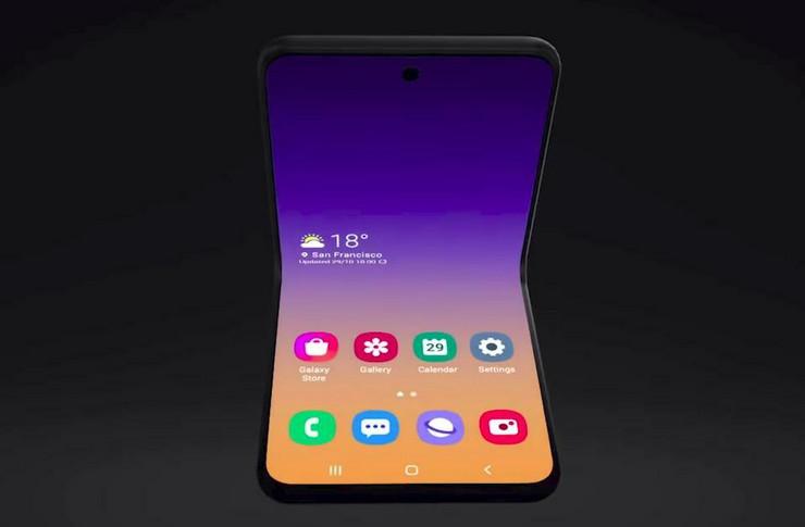 Samsungov novi savitljivi telefon