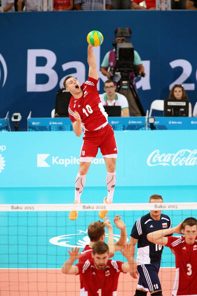 Porażka Polski z Bułgarią 2:3 w półfinale Igrzysk Europejskich!