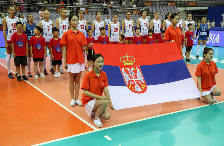 Odbojkašice Srbije