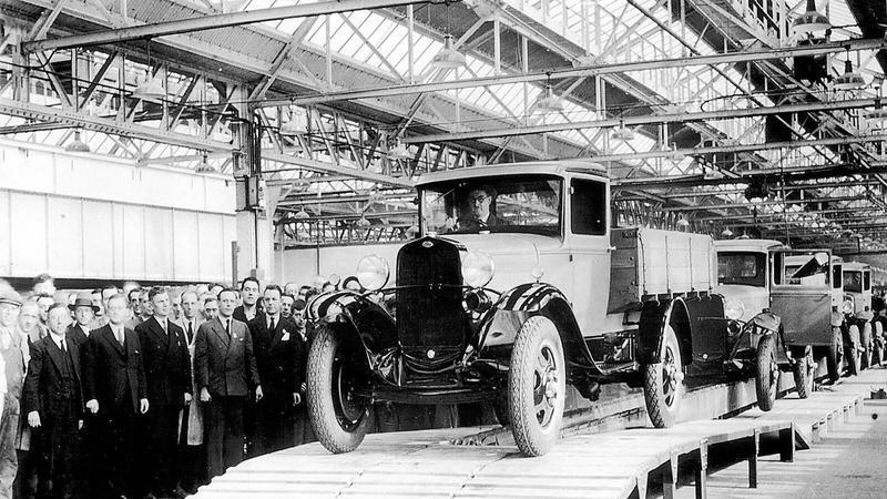 Pierwszy Ford T (1931)