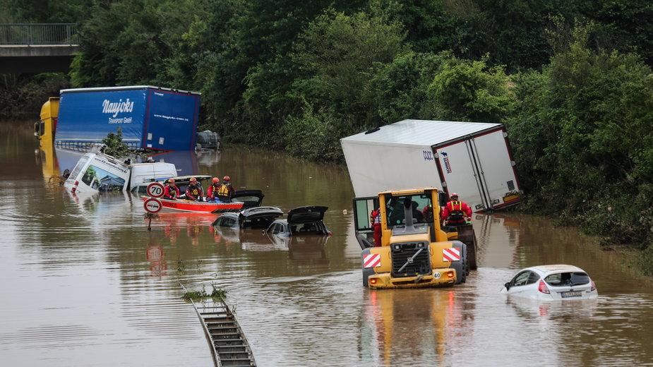 Najbardziej powódź dała się we znaki w Niemczech