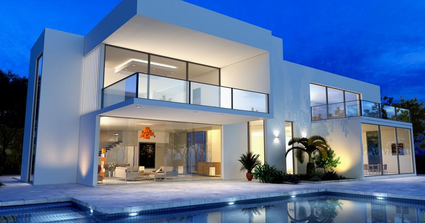 Basen to obowiązkowy dodatek do każdego luksusowego domu
