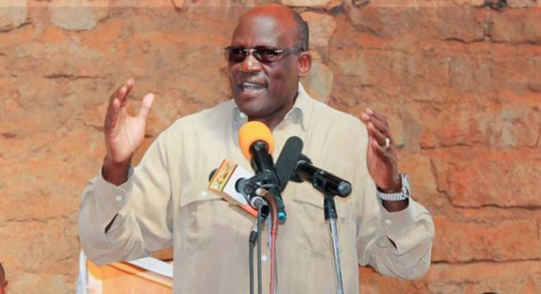 Former Machakos Senator Johnson Muthama