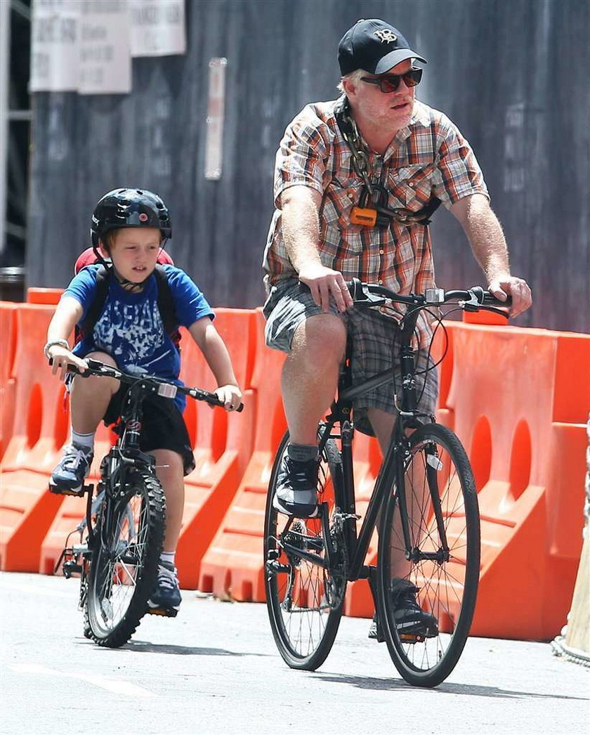Hoffman dba o bezpieczeństwo syna
