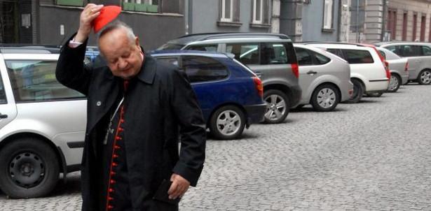Kardynał Stanislaw Dziwisz w Krakowie