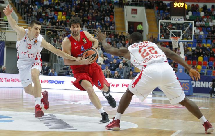 KK CSKA, KK Crvena zvezda, Miloš Teodosić