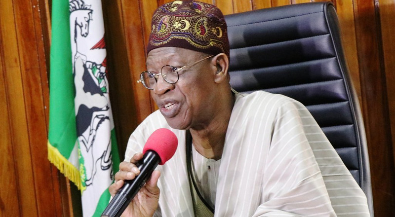 You gain more with social media regulation, Lai Mohammed tells NUJ