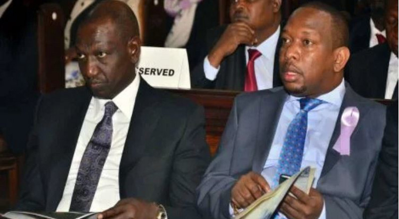 Details of Uhuru snubbing DP Ruto at important meeting after sacking Mwangi Kiunjuri emerge