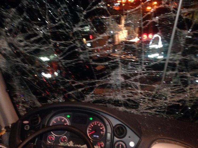 Wypadek autokaru z piłkarzami AD Merida