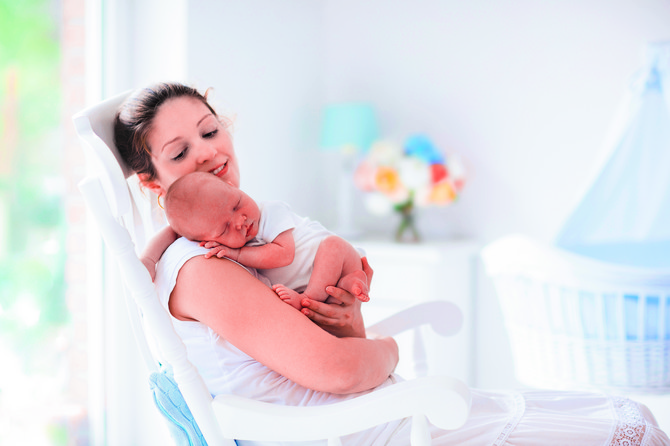 Mama je za bebu najvažnija