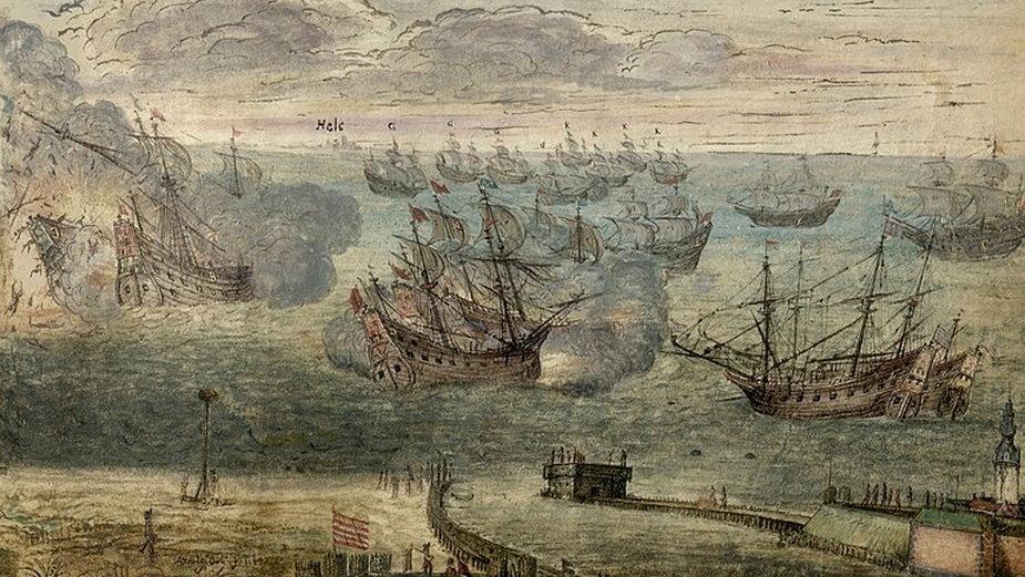 Bitwa pod Oliwą 1627 - domena publiczna