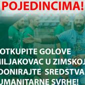 """FK Miljakovac vas POZIVA DA """"OTKUPITE"""" GOLOVE kluba na utakmicama zimske lige i donirate sredstva humanitarnim organizacijama!"""