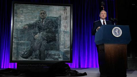 "Kevin Spacey na premierze 4. sezonu ""House Of Cards"""