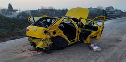 Tragiczny wypadek. Dwie młode osoby nie żyją, są ranni