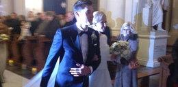 Ślub reprezentanta Polski! Było pięknie
