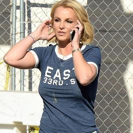 Britney Spears bez stanika