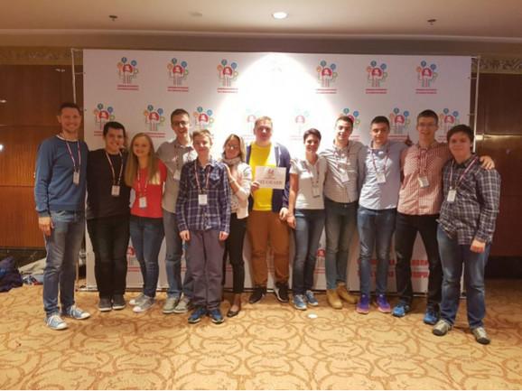 Uspeh u Moskvi: Talenti Matematičke gimnazije sa profesorima