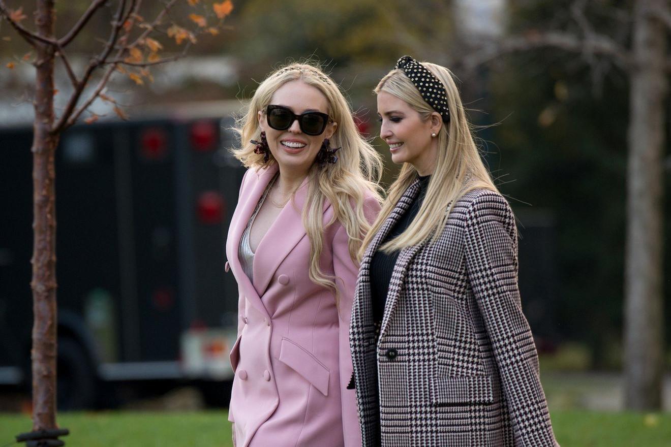 Tifani Tramp sa sestrom Ivankom