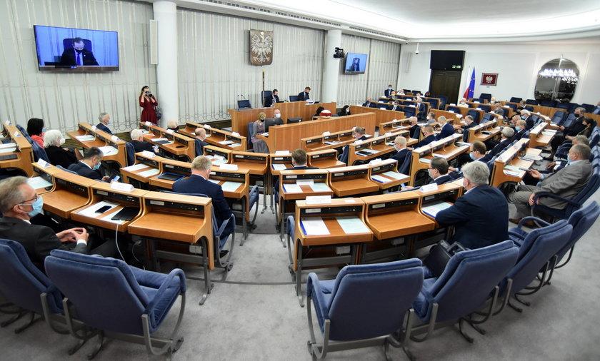 Opozycja przegrała w Senacie ważne głosowanie. Czy to koniec senackiej większości?