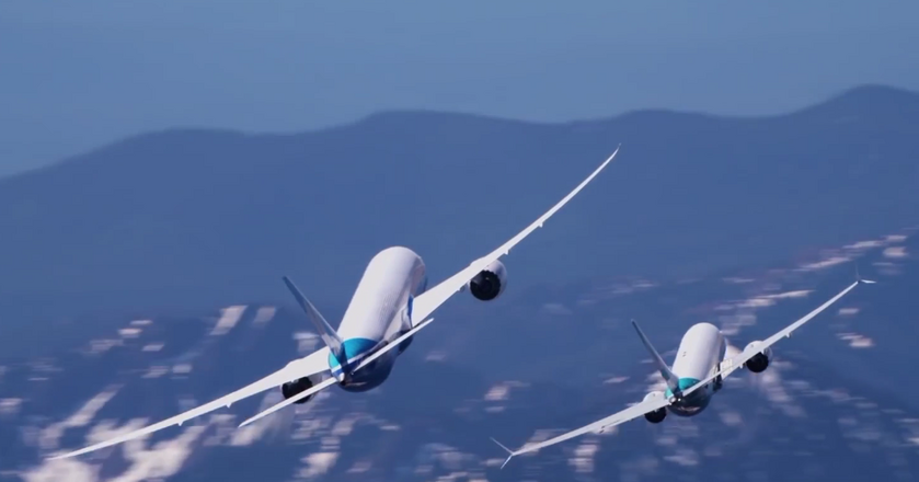 BI: Techniczny pokaz możliwości Boeingów