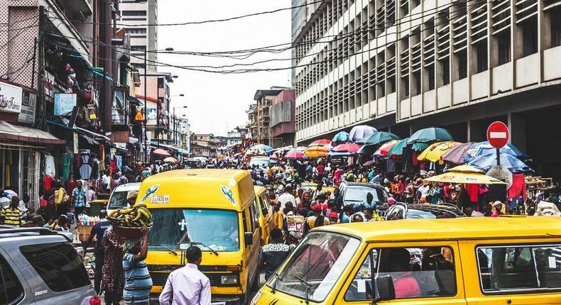 Lagos, Nigeria. Photo: Peeter Viisimaa via Getty Images