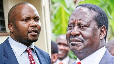 Moses Kuria's offer to Raila over alleged division within ODM party