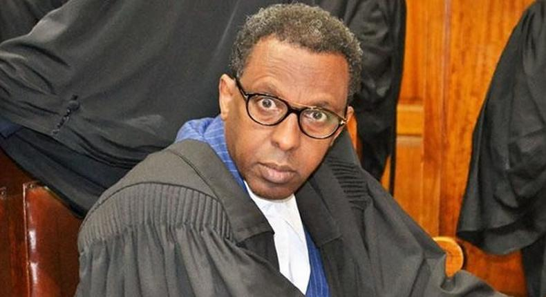 You would have died a drunkard - lawyer Ahmednasir Abdullahi in bitter exchange with Speaker Justin Muturi