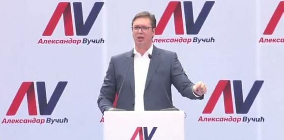 Vučić u Novom Sadu