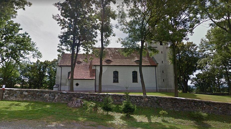 Parafia św. Marcina w miejscowości Pomocne