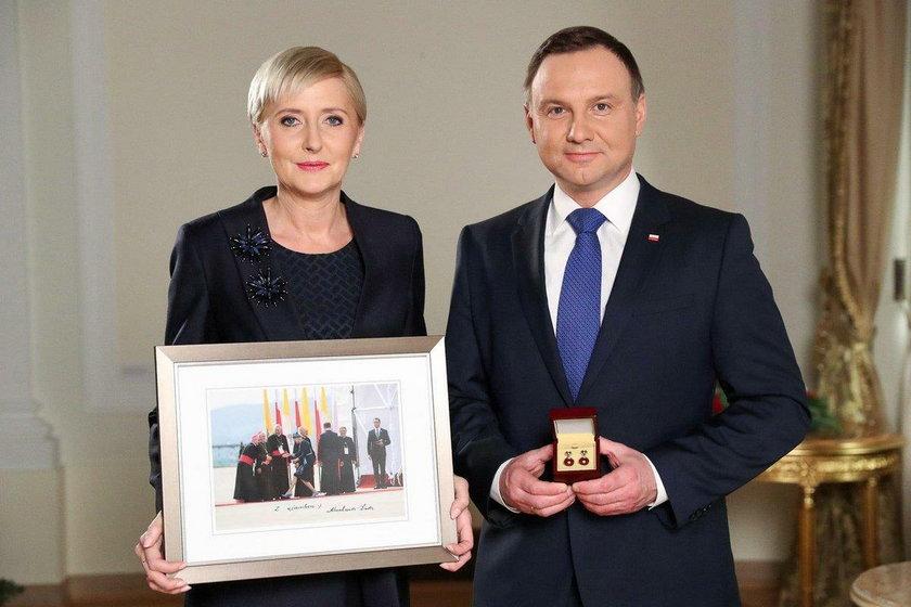 Zdjęcie pierwszej damy hitem u Jurka Owsiaka!