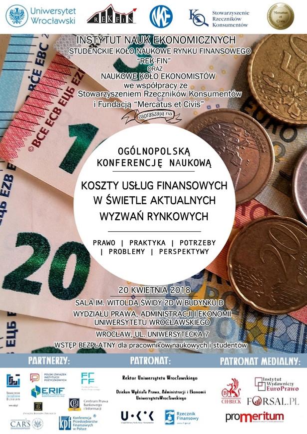 Koszty usług finansowych w świetle aktualnych wyzwań rynkowych [KONFERENCJA]