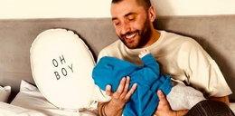 Rafał Maserak świętuje pierwszy miesiąc synka. Jest w szoku