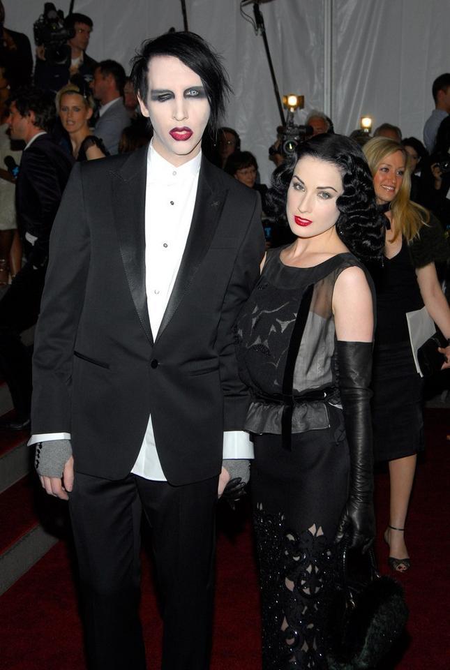 6. Marilyn Manson i Dita Von Teese