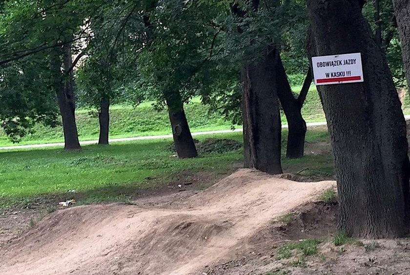 Tragedia w parku
