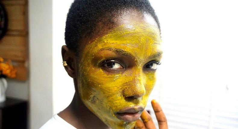 Turmeric face mask(Cassie Daves)