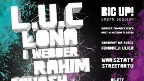 Rahim, Buka, L.U.C i inni już za tydzień zagrają w Katowicach