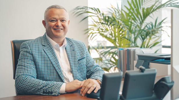 Fedir Yurkevych, prezes zarządu Hegelmann Transporte Sp. z o.o.
